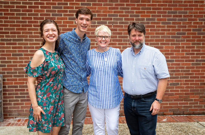Isi Frownfeltner, Thad Kunkel, Sarah and Charles Lister