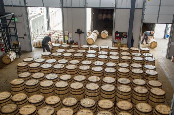 Kentucky produces 95% of the world's bourbon. Photo by Matt Barton, UK agriculture communications specialist