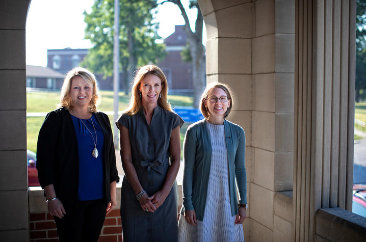 Sarah Johnson, Michele Staton, Katherine Marks
