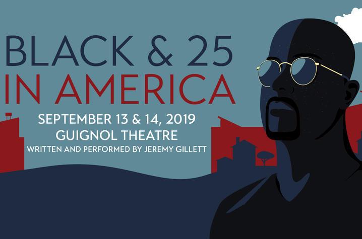 "photo of ""Black & 25 in America"" poster"