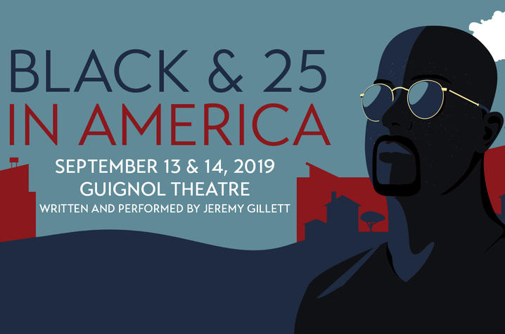 """photo of UK Department of Theatre and Dance's web banner for """"Black & 25 in America"""""""