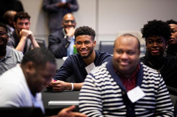 Photo of Men of Color Symposium