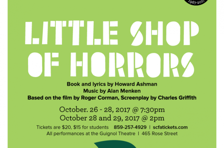 "poster for ""Little Shop of Horrors"""