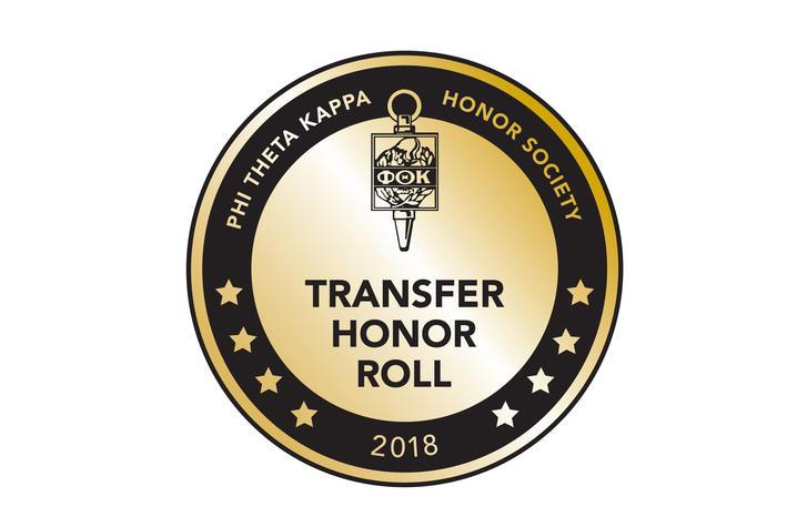 Phi Theta Kappa Transfer Honor Roll seal