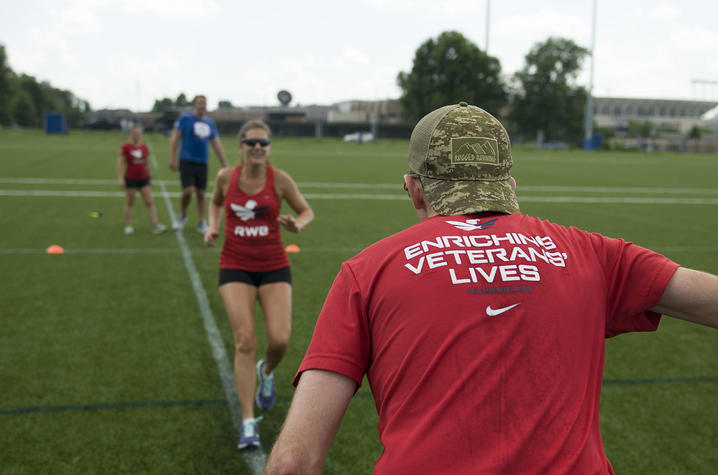 Participants spent the weekend engaging in both social and physical activity