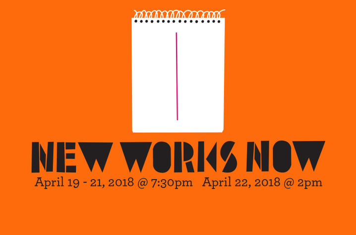 """photo of web banner for """"New Works Now"""""""