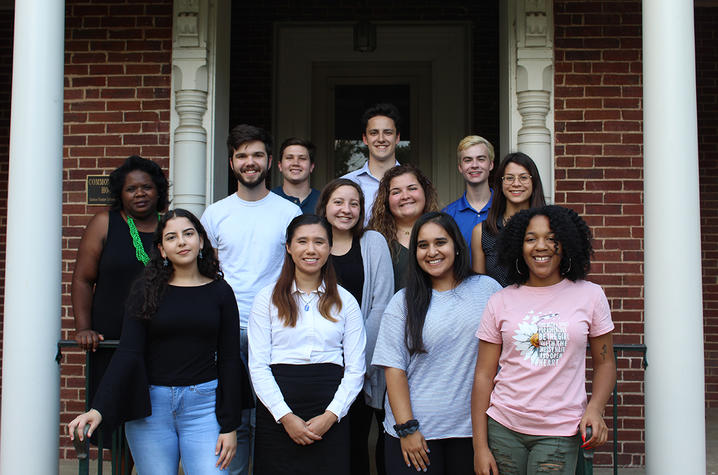 photo of Gaines Fellows with Melynda Price (2nd row, far left)