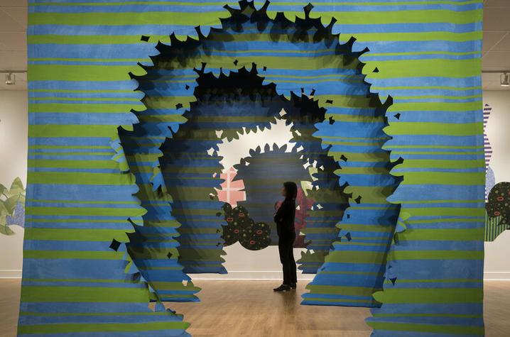 "photo of ""Proscenium Hedgerow"" by Erin Harmon"