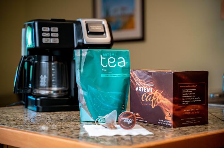 ArtemiLife coffee and tea