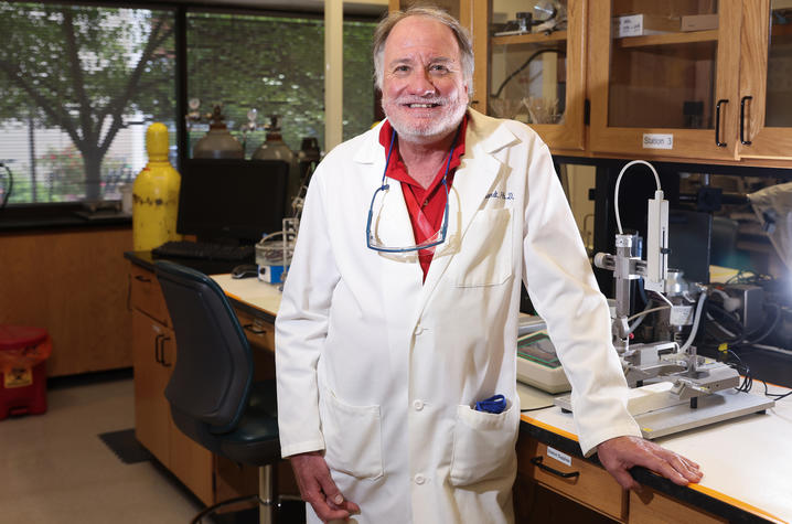 UK Neuroscience Professor Greg Gerhardt has received a $2 million grant for a new research program that could potentially help in the development of new treatments for Alzheimer's disease. Mark Cornelison | UK Photo