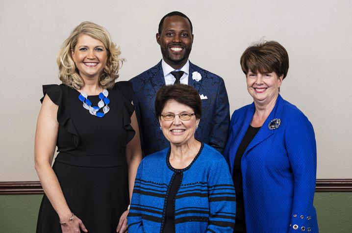 photo of UK Alumni Association officers