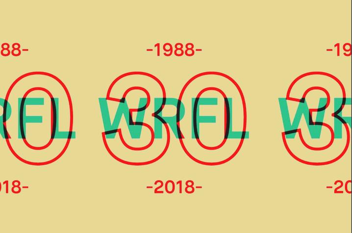 WRFL 30 logo