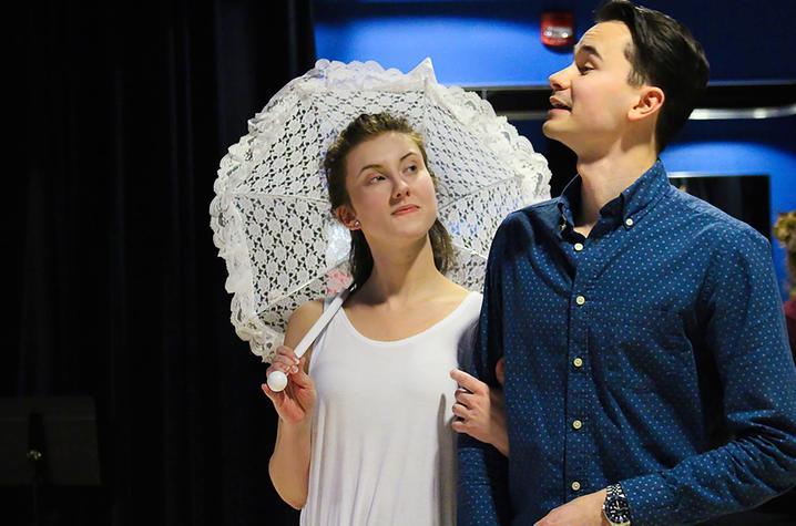 "photo of Jessica Bayne and Michael Pandolfo - ""Show Boat"""