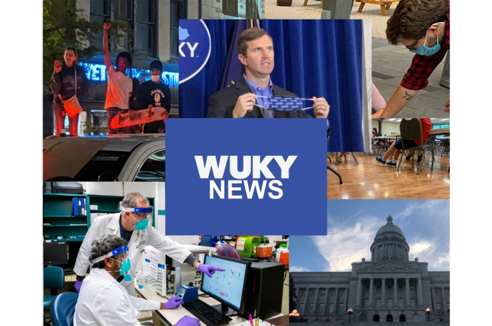 WUKY digital banner collage
