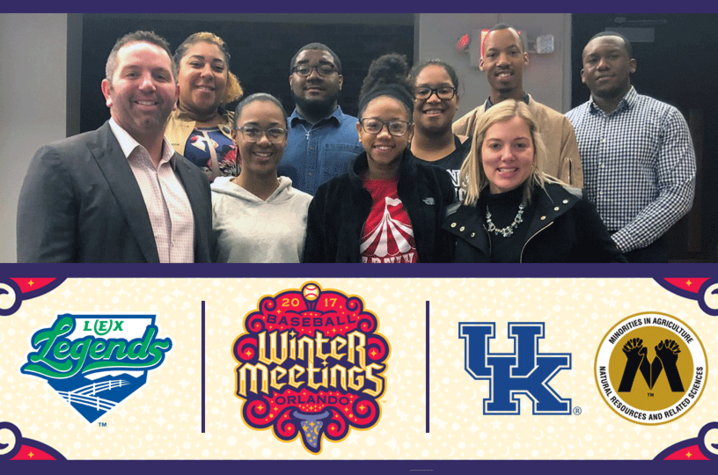 photo of UK students got to MLB Winter Meetings