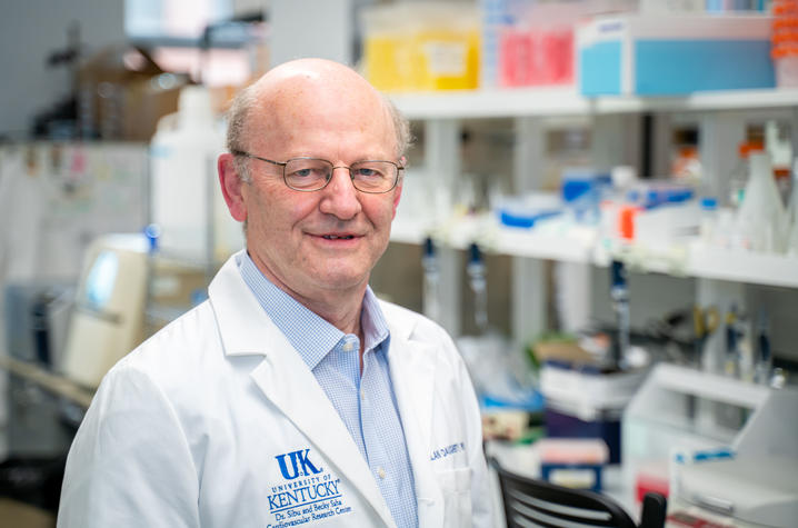 UK researcher Alan Daugherty received a $5.6 million NIH grant to study thoracic aortic aneurysms. The research program could lead to a treatment for the disease. Ben Corwin | UK Research Communications