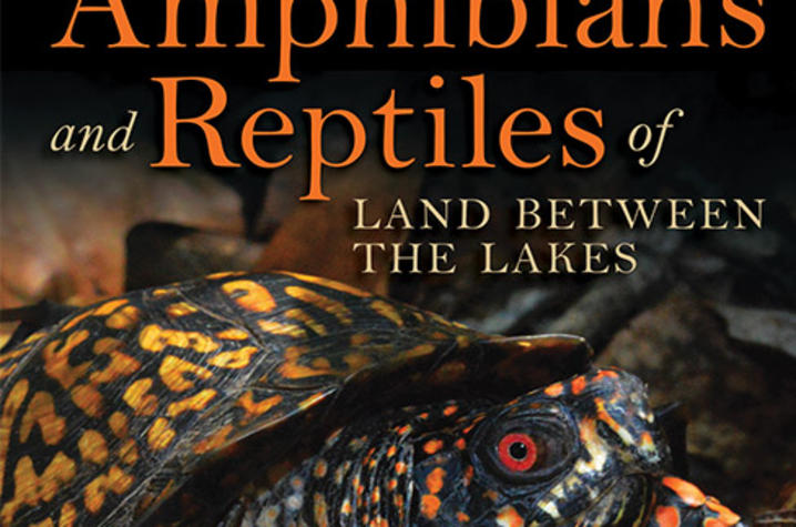"photo of cover of ""Amphibians and Reptiles of Land Between the Lakes"" by David H. Snyder, A. Floyd Scott, Edmund J. Zimmerer & David F. Frymire"