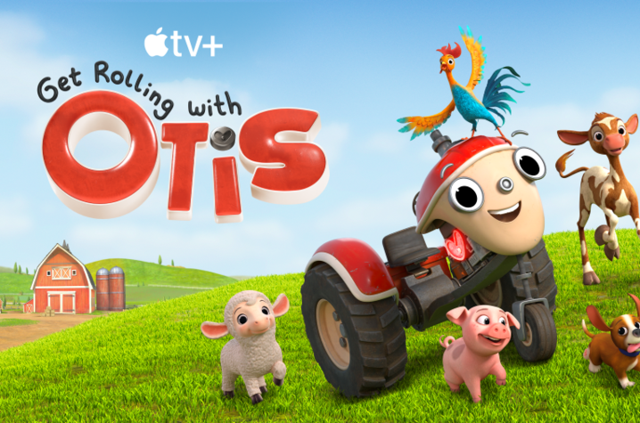 """photo of Apple TV+ art for """"Get Rolling with Otis"""""""