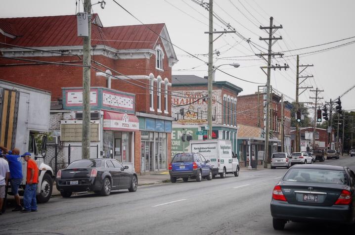 Photo Of Portland Street Scene