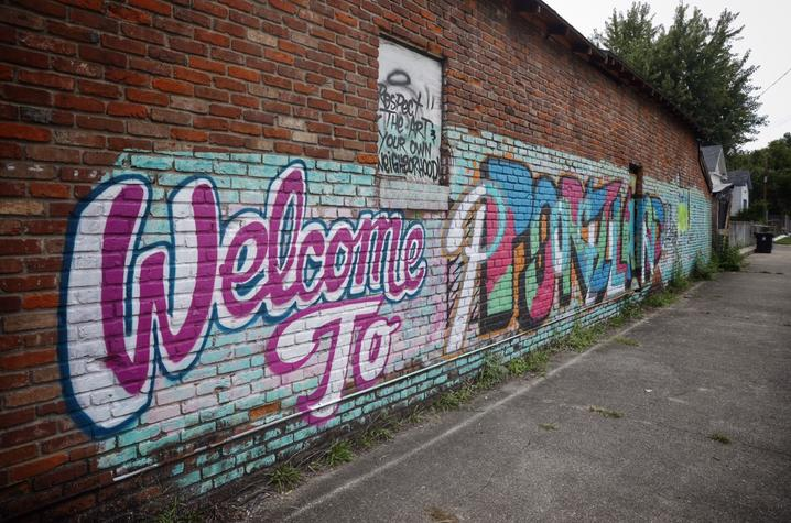 photo of Portland mural - Louisville