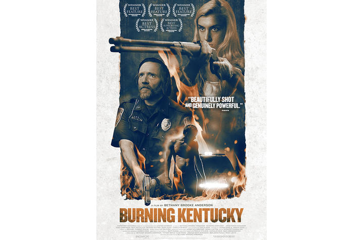 "photo of poster for ""Burning Kentucky"""