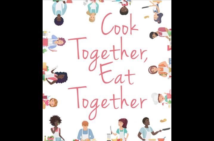 """""""Cook Together, Eat Together"""" cover art"""