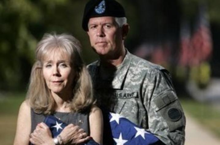 Retired Major General Mark A. and Carol Graham.