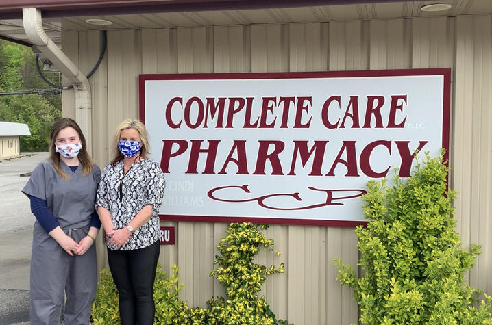 Cindi and Taylor Williams, Pharmacists