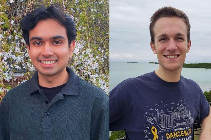 headshot photos of Mihir Kale and Michael Di Girolamo