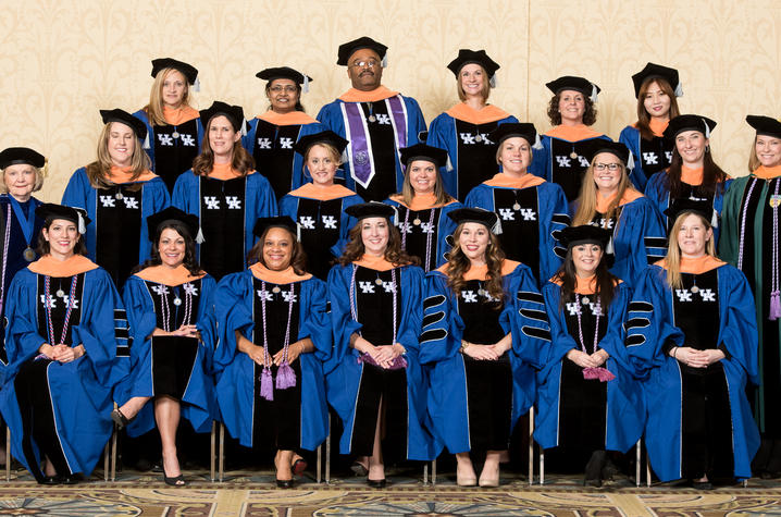 First Doctoral Students Graduate Through Uk Nursing Norton Healthcare Partnership Uknow