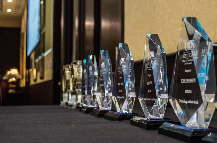 Photo of awards