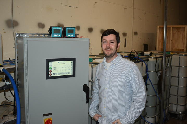 photo of James Landon, chief technology officer at PowerTech Water