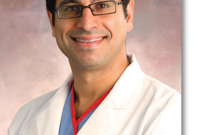 Shervin Dashti, MD, PhD, co-director of the cerebrovascular & endovascular neurosurgery program at Norton Healthcare