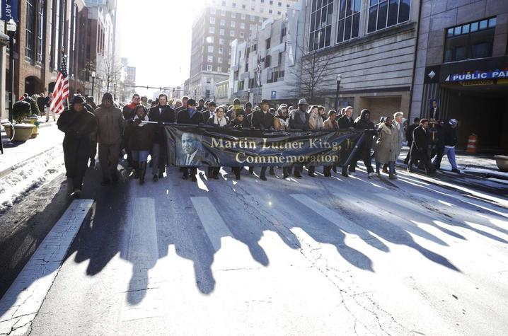 photo of MLK Freedom March