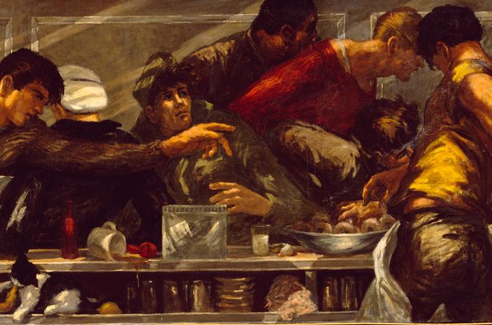 "photo of ""Last Supper"" by Edward Melcarth"