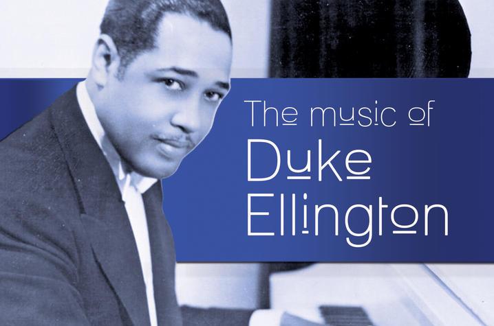 web banner for Duke Ellington concert at Singletary Center
