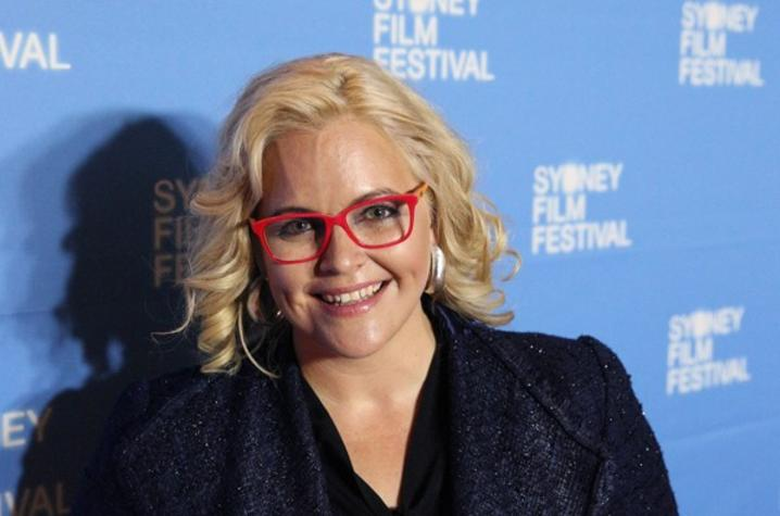 "Photo of Taryn Brumfitt, director of ""Embrace"" at it's world premiere at the 2016 Sydney Film Festival"