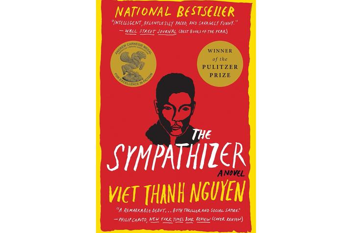"""photo of cover of """"The Sympathizer"""" by Viet Thanh Nguyen"""
