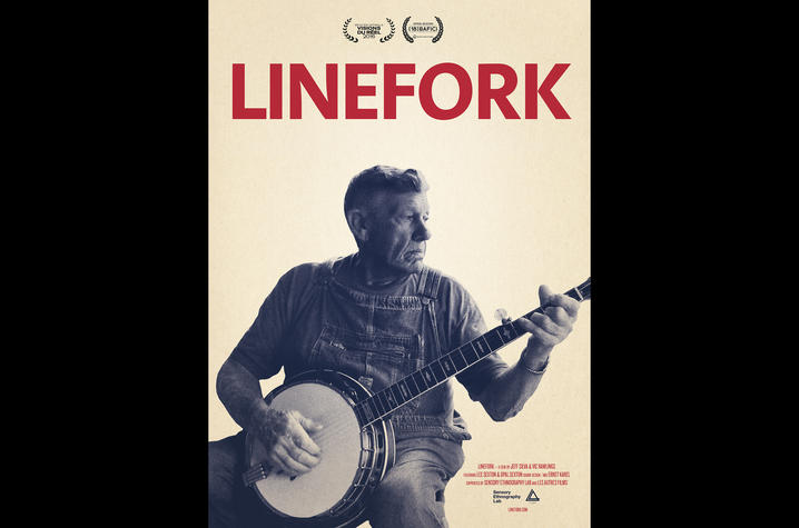 "photo of ""Linefork"" poster"