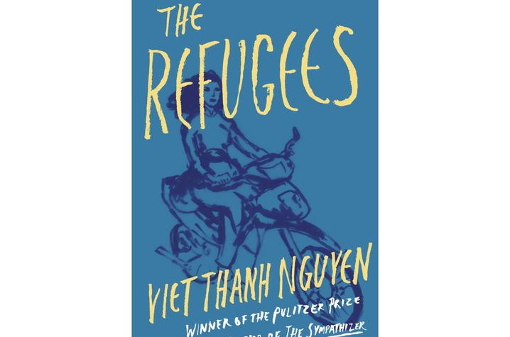 """photo of cover of """"The Refugees"""" by Viet Thanh Nguyen"""