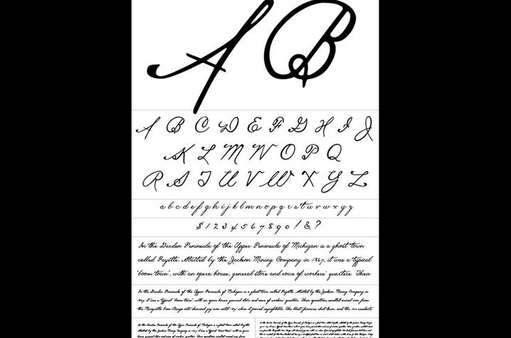 photo of typeface Fayette by Mia Cinelli
