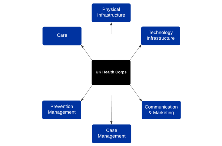 UK Health Corps logo