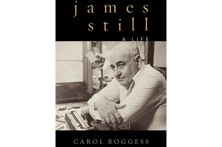 "photo of cover of ""James Still: A Life"" by Carol Boggess"
