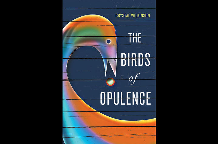 "photo of the cover of ""The Birds of Opulence"" by Crystal Wilkinson"