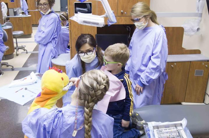 For UK Dentistry, protecting the oral health of children is a year-round mission