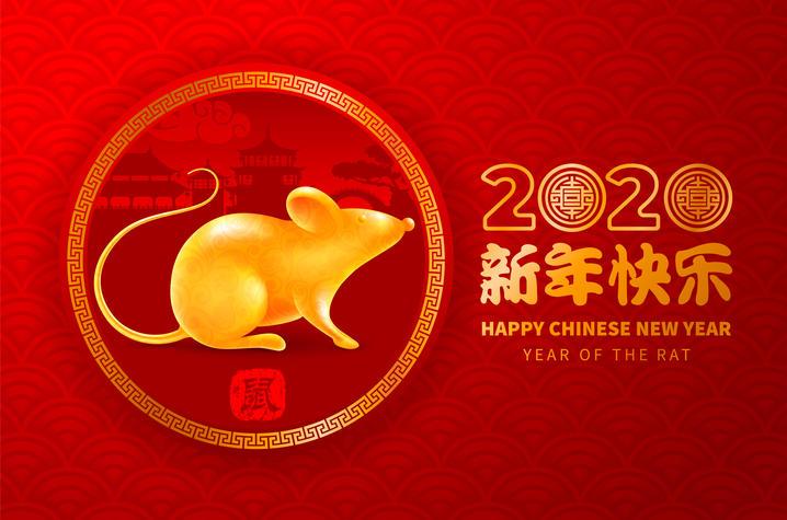 Chinese New Year Graphic