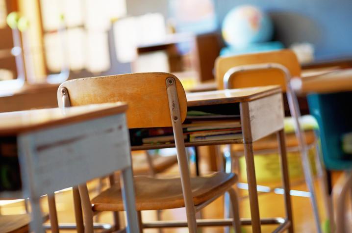 Photo of School Desks