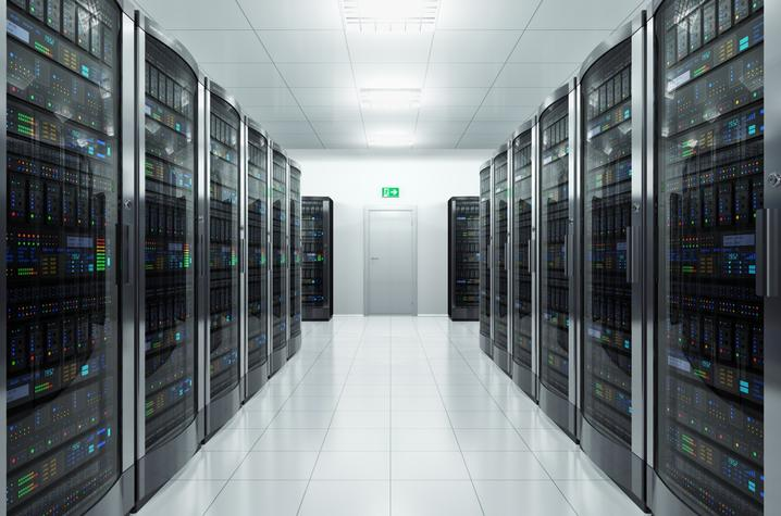 photo of data farm