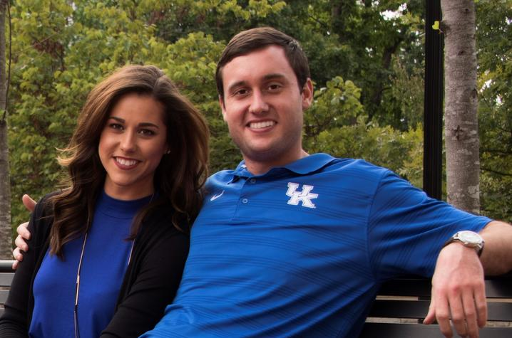 photo of Michael and Lauren Gorrell