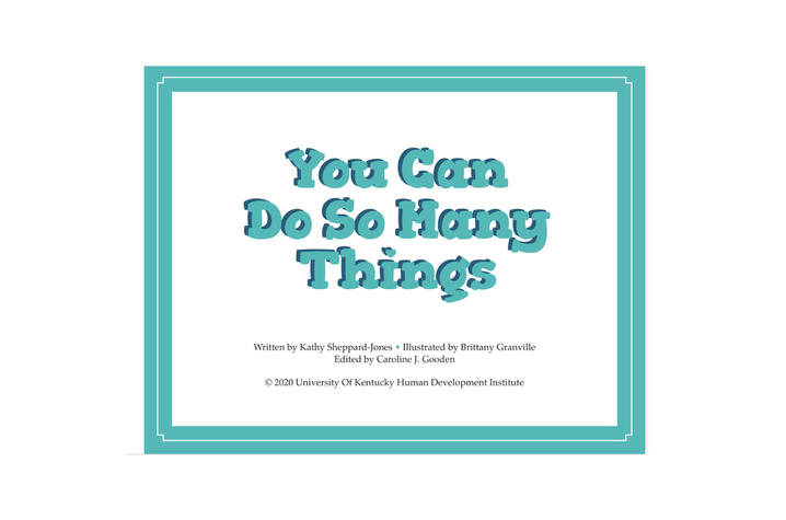 """Kathy Sheppard-Jones has published """"You Can Do So Many Things!"""" —a book highlighting diversity and inclusion in the workforce for young children."""